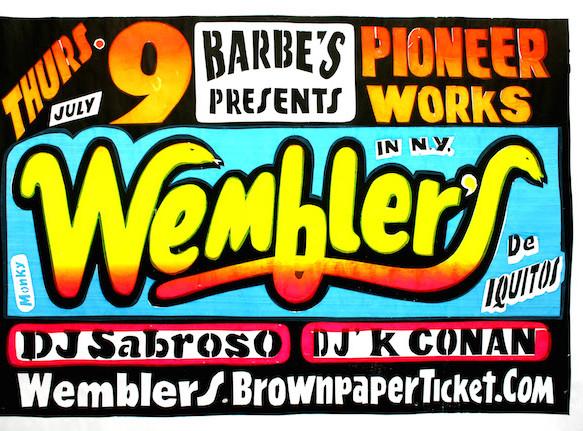 Los Wembler's: Peruvian Sonido Amazonico at Pioneer Works