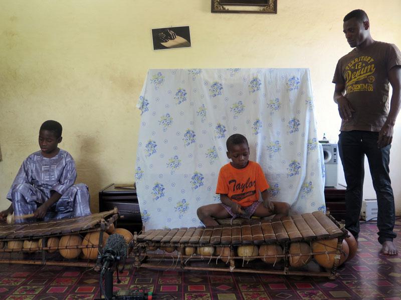 Balafon duo of Daniel Dembele and Waly Coulibaly