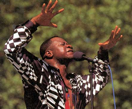 Papa Wemba, Central Park Summerstage, New York