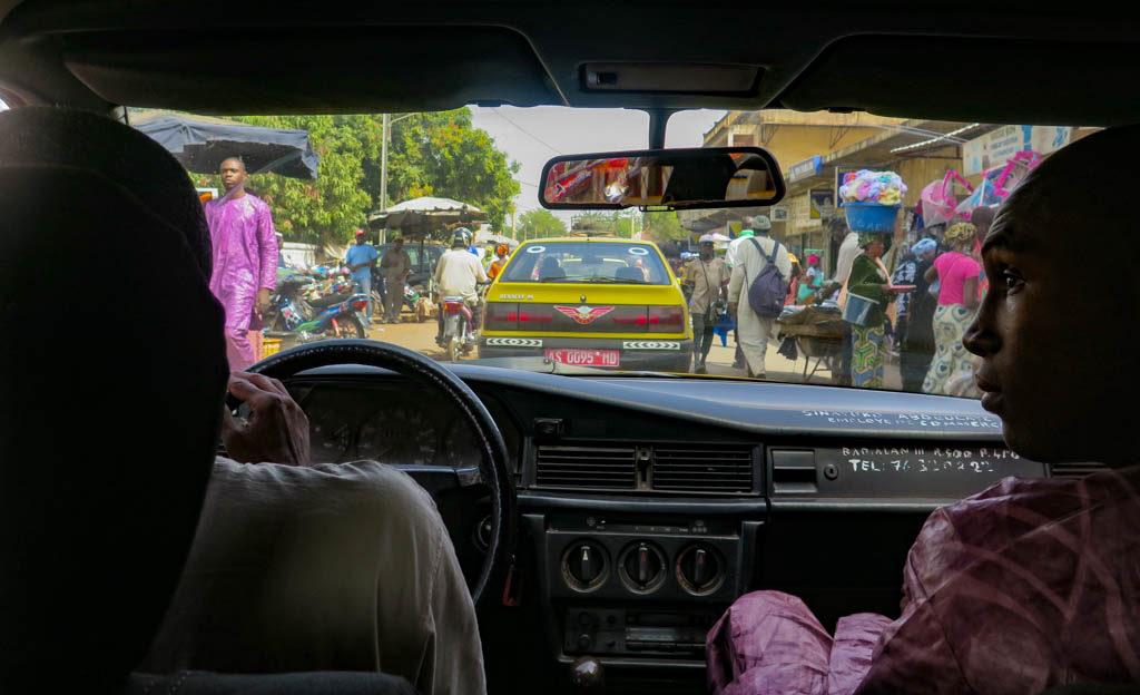 Bamako taxi ride