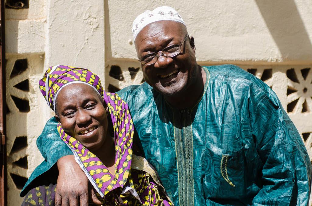 Djelimady Tounkara and his wife Adama Kouyaté (Eyre 2016)