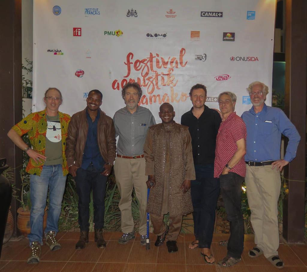 Mark LeVine, Oumar Toure (Songhai Blues), Sean Barlow, Toumani Diabate, Derek Gripper, Simon Broughton, Banning Eyre