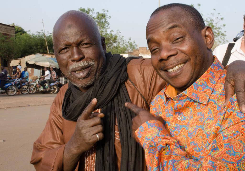 Hama Sankare, Ali Farka's longtime percussionist, and Toumani