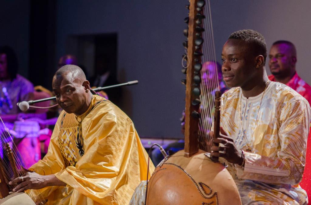 Toumani & Sidiki Diabate with Symmetric Orchestra at Festival Acoustic de Bamako (Eyre 2016)