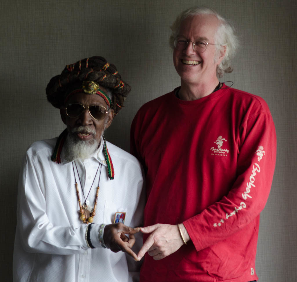 Bunny Wailer and Banning Eyre