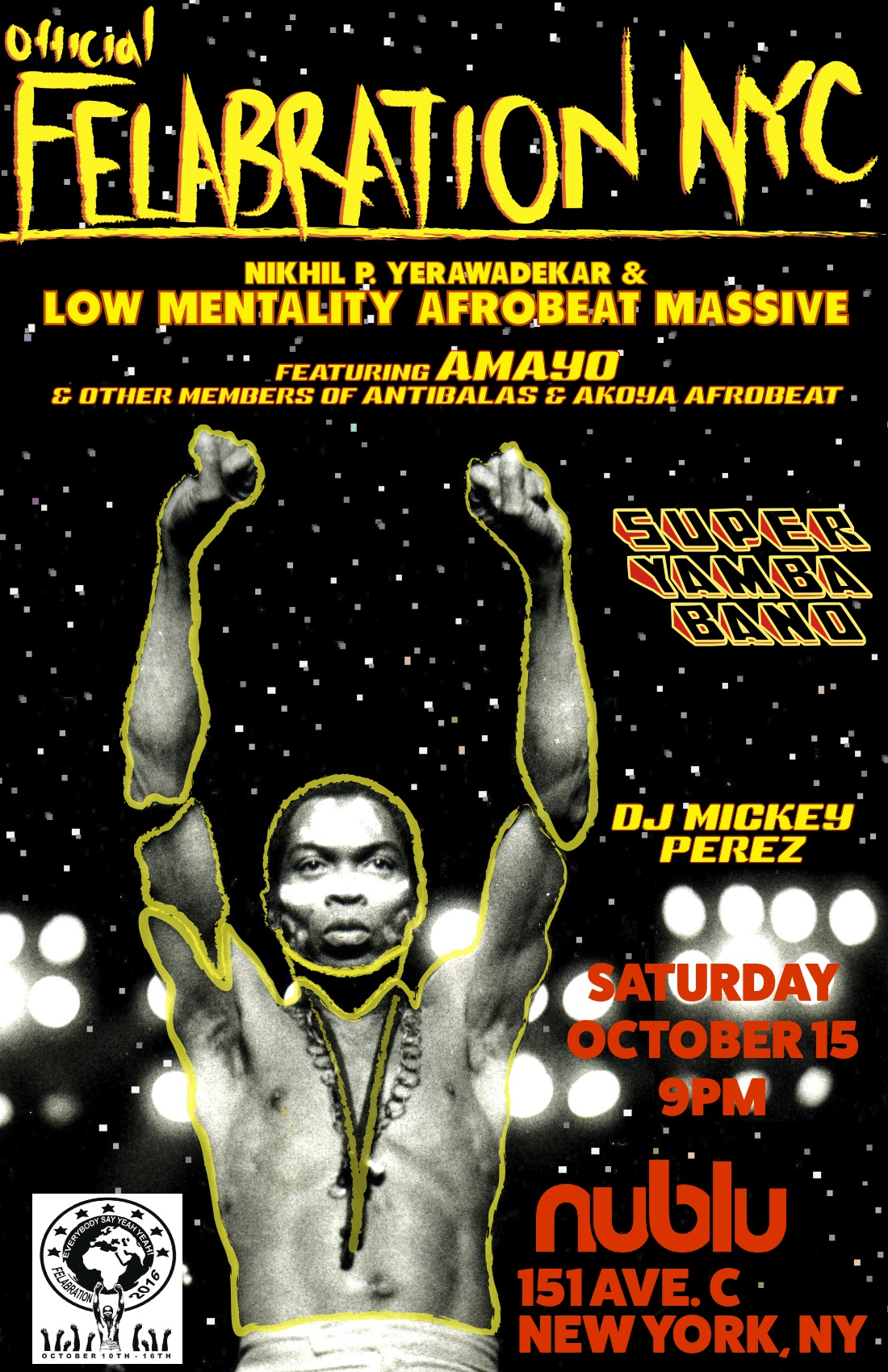 Ticket Giveaway: Felabration 2016 at Nublu