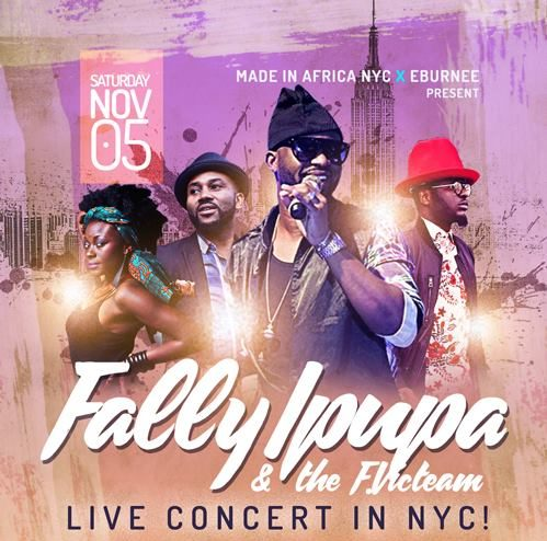 Ticket Giveaway: Fally Ipupa, Nov. 5