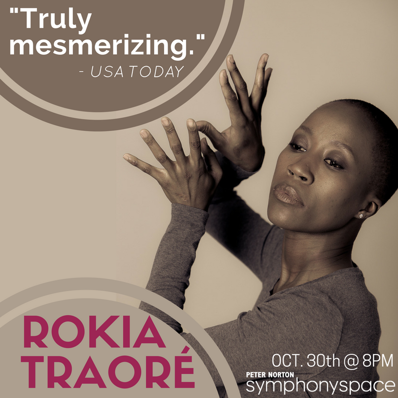 Rokia Traore Performs in New York City