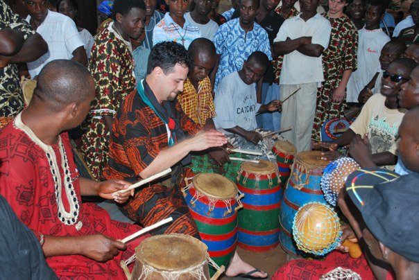 James Burns Discusses Music of Ghana's Volta Region