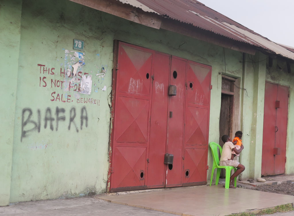 Dispatch From Nigeria #5: Port Harcourt--Biafra and Oil