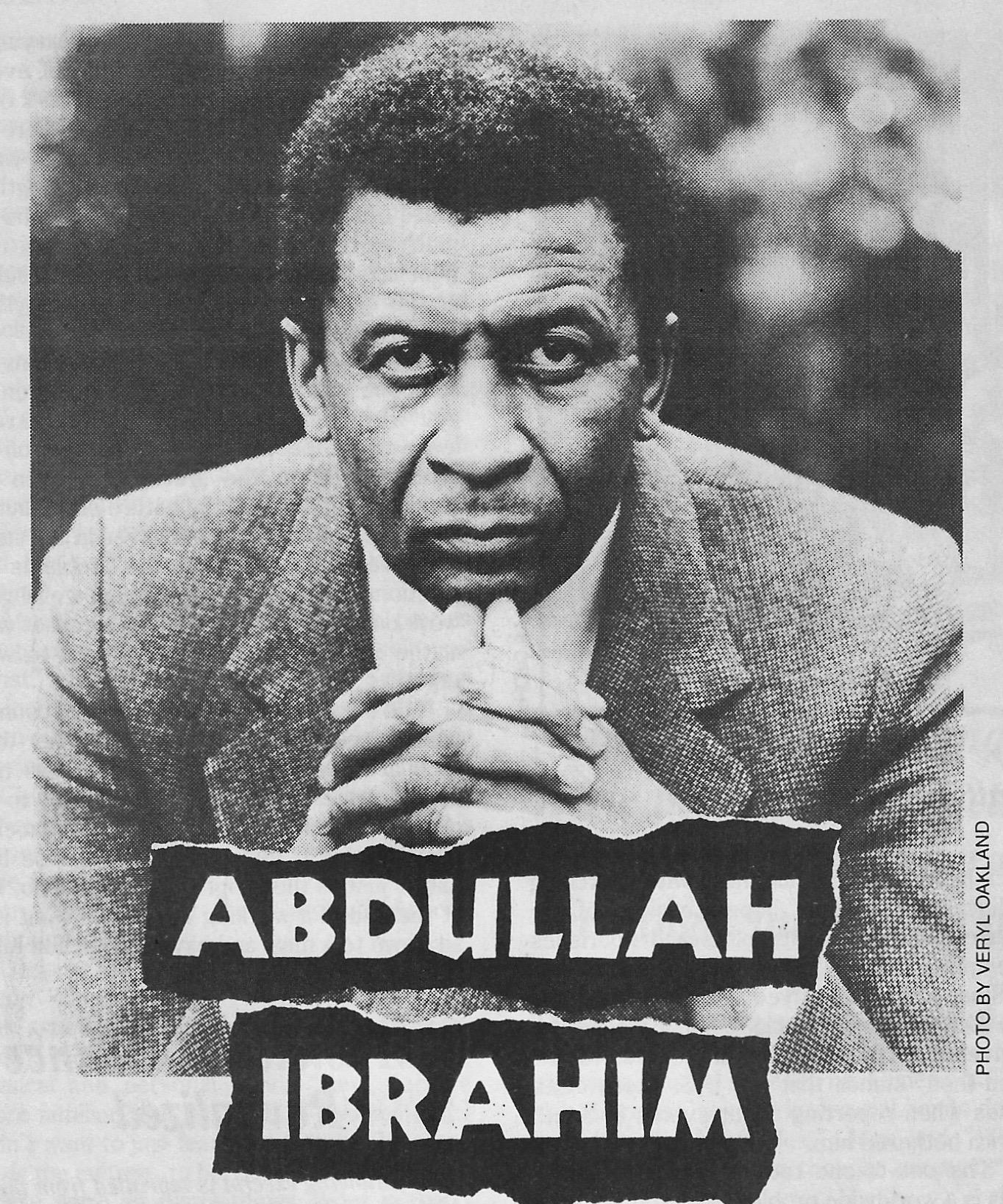 Best of The Beat on Afropop: The Jazz Epistles--Abdullah Ibrahim and Hugh Masekela