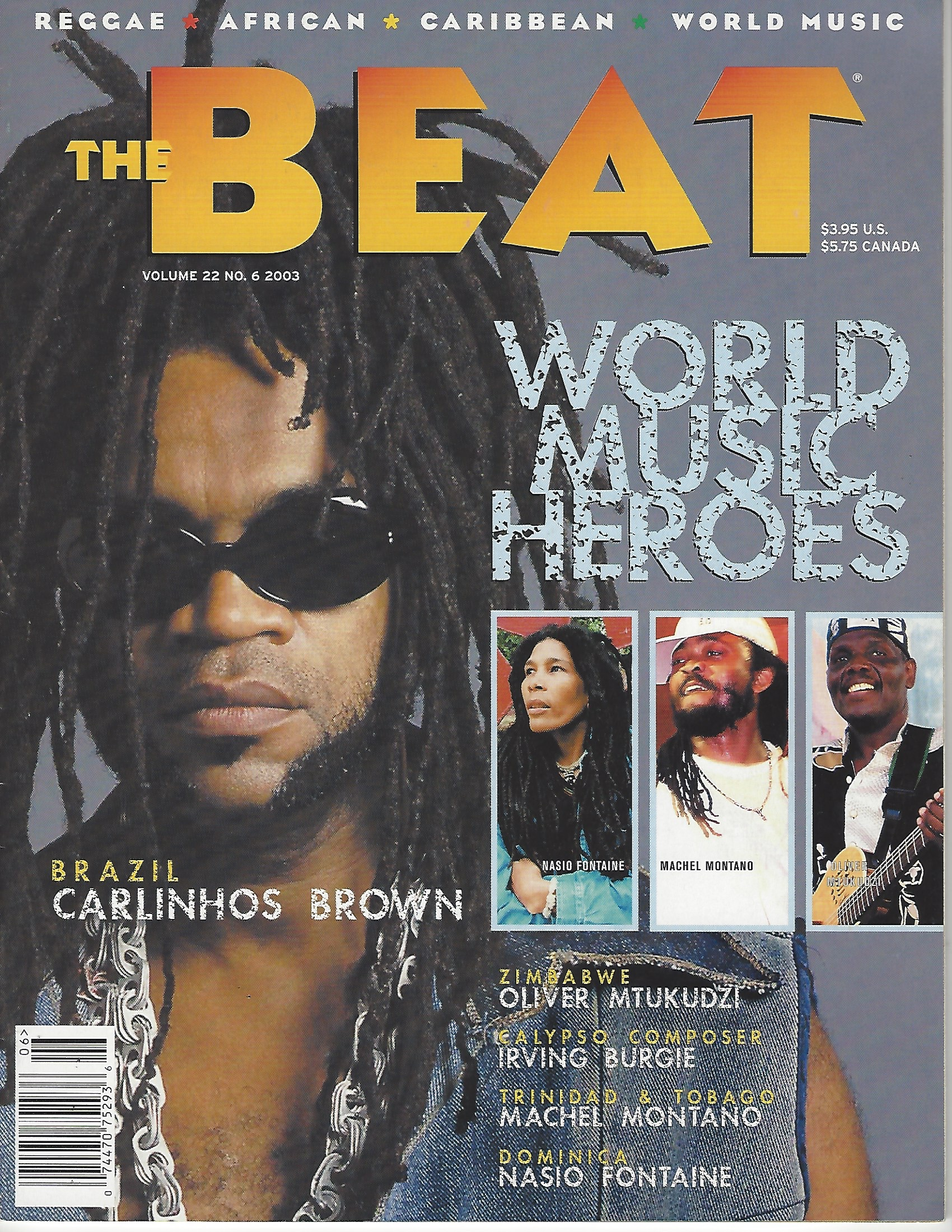 Best of The Beat on Afropop: Carlinhos Brown