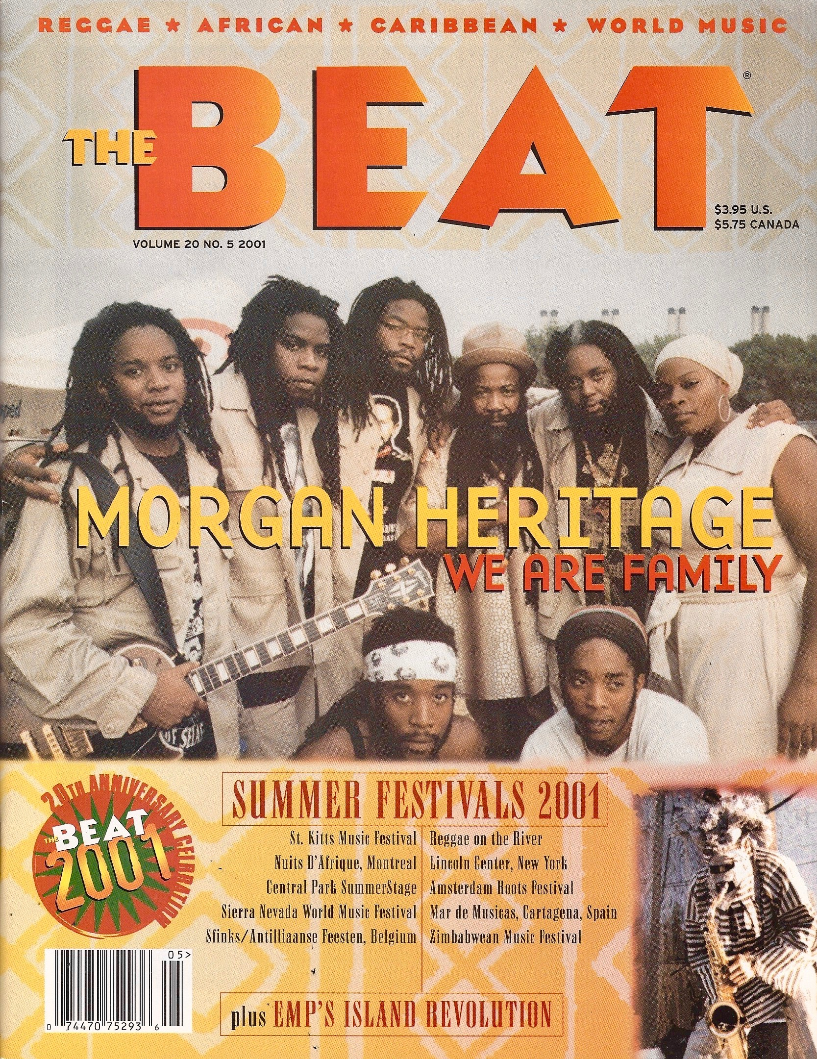 Best of The Beat on Afropop: Morgan Heritage--We Are Family