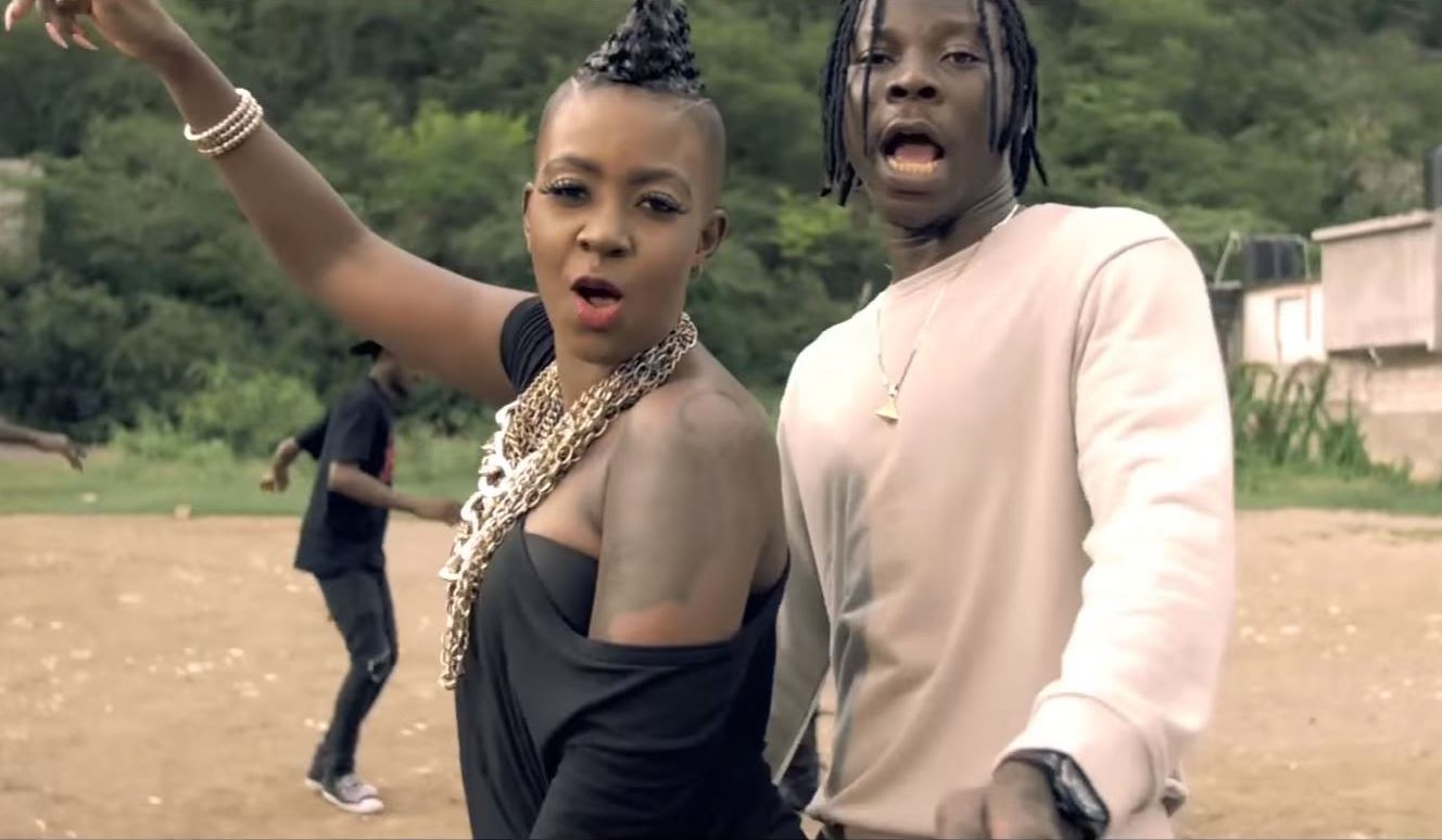 """Video Premiere: Fay-Ann Lyons' """"Block the Road"""" With Stonebwoy"""