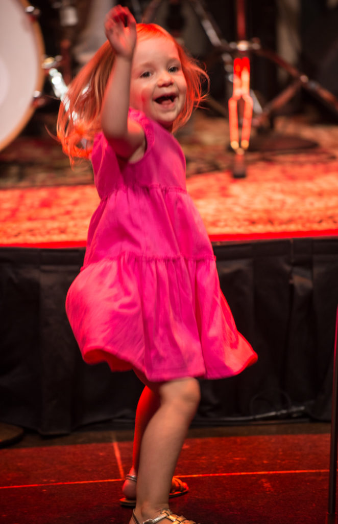 A new fan dancing at Mdou's Lincoln Center concert (Eyre 2017)